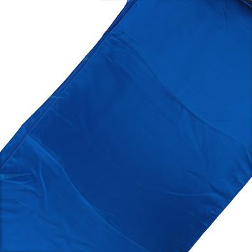 Satin Fabric Table Runner, Royal Blue, 14-Inch x 108-Inch