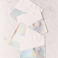 Ginger Ray Iridescent Foil Dipped Napkins | Urban Outfitters