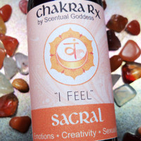 "Sacral Chakra Spray ""I Feel"" - Let Go of Emotional Baggage, Heal Trauma & Increase Your Creativity"