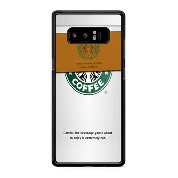 Starbucks Coffee Cup Samsung Galaxy Note 8 Case