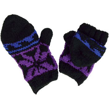 Fingerless Knitted Gloves/Mittens