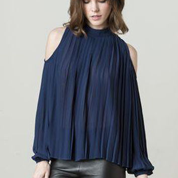 Blaque Label Open Shoulder Top