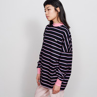 Lazy Oaf Peeping Eye Stripe Long Sleeve T-shirt - Everything - Categories - Womens