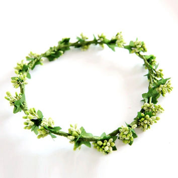 Floral Flower Fruit Crown Headband Festival Holiday Bohemia Garland Hairband New NW