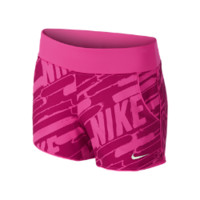 "Nike 3"" Sport Knit Graphic Girls' Training Shorts - Hyper Pink"