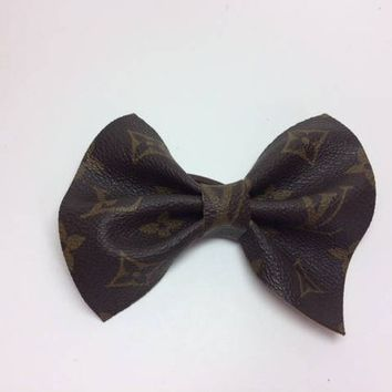 Louis Vuitton Hair, LV Ponytail Holder, Vuitton, Upcycled,  Recycled, Reworked, Repurposed, Keepall, Neverfull,