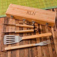 BBQ Grilling Set ~ Personalized