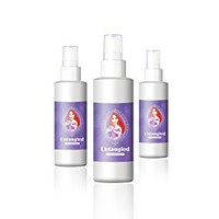 Untangled Doll Hair Spray -Best Doll Hair Detangler - Kid Safe - Light Spray, All in One Formula - Barbie Hair Straightener - Baby Doll Hair Shampoo - for American Girl, My Little Pony and More!