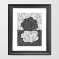 Okay Clouds-The Fault in Our Stars Framed Art Print by Anthony Londer | Society6