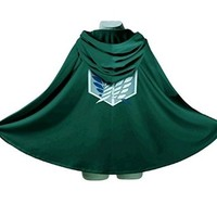 Generic Attack on Titan Shingeki No Kyojin Cloak Cape Cosplay