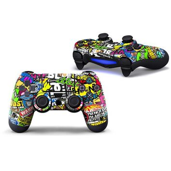 Protect Controller Sticker for Playstation PS4 Accessories Controller Skin Sticker for PS4 Controller for PS4 Sticker Joystick