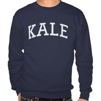 VEGAN KALE CREW NECK SWEATSHIRT