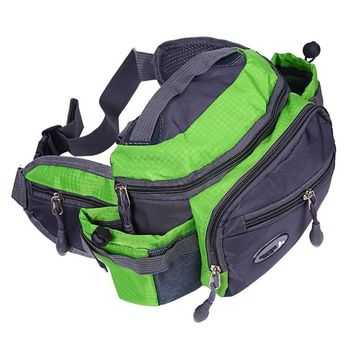 High Quality Outdoor Sports Shoulder Bag Fishing Tackle Storage Crossbody Travel Hiking Climbing Backpack Messenger Sling Bags