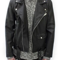 Road Warrior Leather Biker Jacket | Wings Of Liberty