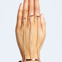Jemima Rose Gold Hand Harness