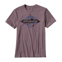 Patagonia Men's Wood Stampled P-6 Cotton/Poly T-Shirt