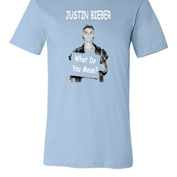Justin Bieber What Do You Mean  - Unisex T-shirt