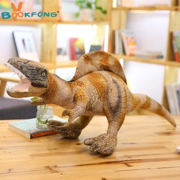 Simulation Dinosaur Plush toy Lifelike Earthquake dragon Tyrannosaurus Rex Dolls Soft Stuffed Animals Kids Boys Birthday Gifts