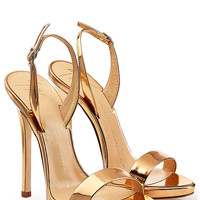 Giuseppe Zanotti - Metallic Patent Leather Sandals