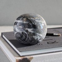 Black Marble Sphere