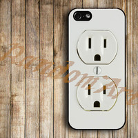 iPhone 5 Case iPhone 5 Cover iPhone 5 Cases unique case for apple iPhone 5 - Electrical-Outlet