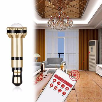 Universal Infrared IR Remote Control 3.5mm Anti Dust Plug Transmitter Home  Appliances Remote Controller For 38312c6f5