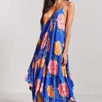 Floral Swim Cover-Up Dress