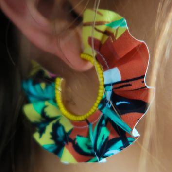 Love To Be Colorful Earrings: Multi