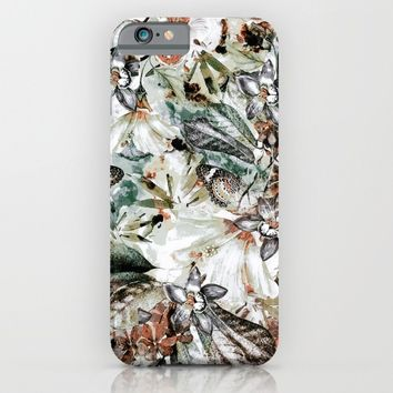 Orchidaceae iPhone & iPod Case by VS Fashion Studio