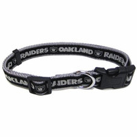 Oakland Raiders Collar Medium