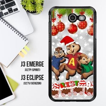 Alvin And The Chipmunks And The Chipettes D0268 Samsung Galaxy J3 Emerge, J3 Eclipse , Amp Prime 2, Express Prime 2 2017 SM J327 Case
