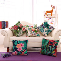 Tropical Pillow Covers 1