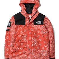 Supreme X North Face Red Bandana Jacket