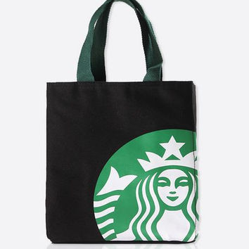 Japanese style starbuck cooler Thermal insulation bag package portable lunch picnic bag thickening thermal breast
