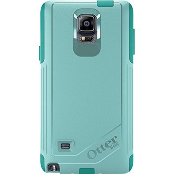 OtterBox Samsung Galaxy Note 4 Case Commuter Series - Retail Packaging - Aqua Sk