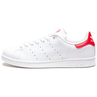 ADIDAS STAN SMITH - WHITE/COLLEGIATE RED | Undefeated