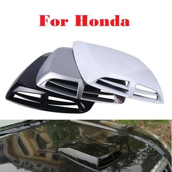 Auto Stickers Scoop Turbo Bonnet Vent Cover Hood Decorate For Honda FCX Clarity Fit Fit Aria HR-V Insight Inspire Integra Jazz