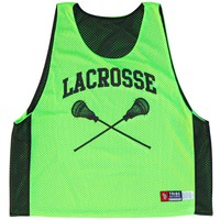 Lacrosse Crossed Sticks Pinnie