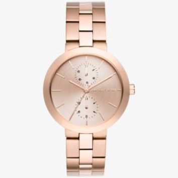 Garner Rose Gold-Tone Watch | Michael Kors