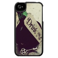 Drink Me Iphone 4 Cases from Zazzle.com
