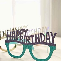 Happy Birthday Party Glasses Set