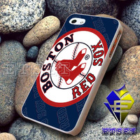 Boston Red Sox Logo for iphone case, iPod, iPad, Samsung Galaxy Case, Hard Plastic Case, Rubber Case (AQ)
