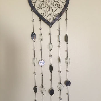 Dainty Aged Bronze Wind Chime
