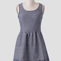 Country Inn Chambray Dress