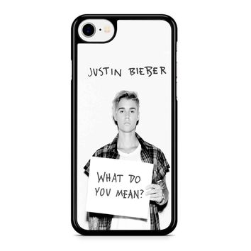 Justin Bieber What Do You Mean Iphone 8 Case