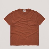 Wild Ones Pocket Tee in Rust
