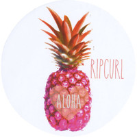 Rip Curl Pineapple Sticker White One Size For Women 25627515001