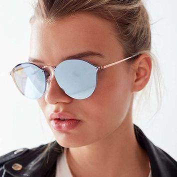 Ray-Ban Blaze Round Sunglasses   Urban Outfitters