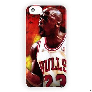 Michael Jordan Chicago Bulls Nba For iPhone 5 / 5S / 5C Case