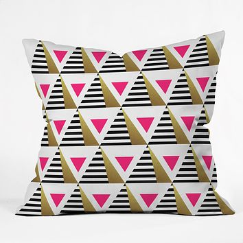Elisabeth Fredriksson Pyramids Throw Pillow